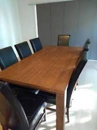 Dining Table Chairs And Matching Buffet