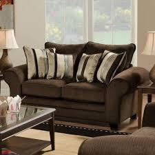 American Furniture Manufacturing Loveseats Waverly Godiva 3702