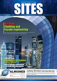 Jangho Curtain Wall Americas Co by Construction Sites February Issue No 79 By Qatar Construction