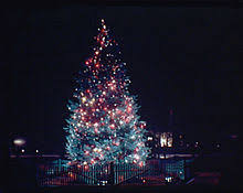 The National Community Christmas Tree In Lafayette Square Circa 1936 To 1938