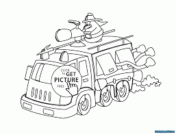 Free Fire Truck Coloring Pages | Free Printable Coloring Pages