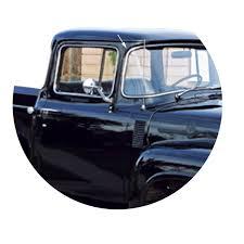 100 1956 Ford Truck F100 Windshield Trim Chrome