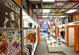 Cool Ceiling Design At Innovative Store Concept Interior Disco Experience