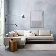andes l shaped sectional west elm