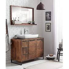 woodkings badset 2teilig waschtisch mit spiegel sydney