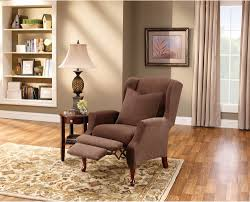 wing chair recliner slipcovers chairs slate colored great wing chair recliner design
