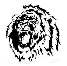 Cool Lion Leo Tattoo Design