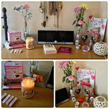 Pottery Barn Office Desk Accessories by Bling My Desktop Desks And Australia In Fabulous Girly Pertaining