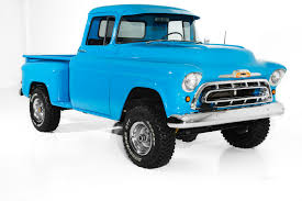 1957 Chevrolet Pickup 3100 4x4 Auto, Great Truck - 1957 Chevrolet Pick Up Truck 3100 Pickup Snow White Street The Grand Creative Rides For Sale 98011 Mcg A Pastakingly Restored Is On Display At Rk Motors Near O Fallon Illinois 62269 Cameo 283 V8 4 Bbl Fourspeed Youtube 2000515 Hemmings Motor News Flatbed Truck Item Da5535 Sold May 10 Ve Oneofakind With 650 Hp Heads To Auction Bogis Garage Cadillac Michigan 49601