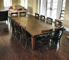 12 Person Dining Table Dinning Dimensions Large