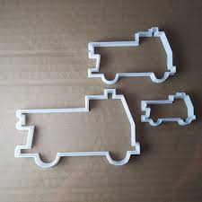 100 Fire Truck Cookie Cutter Engine Emergency 999 Shape Biscuit Pastry