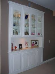 Custom China Cabinet Made A Built In Closet Dining Room Cabinets
