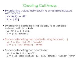 Matlab Cell To Double by Lec 14 Oct 22 More Examples Of Recursive Programs More About Cell