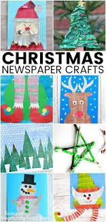 Christmas Newspaper Craft Ideas