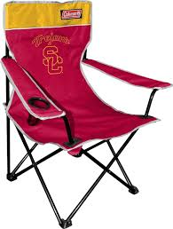 100 Folding Chair With Carrying Case Amazoncom NCAA USC Trojans Coleman