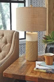 100 Ochre Home Evalyn Ceramic Table Lamp