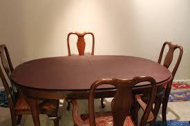 Impressive Dining Room Table Pads Home Gallery Idea Regarding