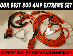 30ft 800 AMP 3pc Extreme Commercial Jump Set - Product Details Heavy Duty Jumper Cables For Industrial Vehicles Truck N Towcom Enb130 Booster Engizer Roadside Assistance Auto Emergency Kit First Aid 1200 Amp 35 Meter Jump Leads Cable Car Van Starter Key Buying Tips Revealed Amazoncom Cbc25 2 Gauge Wire Extra Long 25 Feet Ft Lexan Plug Set With 500 Amp Clamps Aw Direct Buyers Products Plugins 22ft 4 Ga 600 Kapscomoto Rakuten X 20ft 500a Armor All Start Battery Bankajs81001 The Home Depot