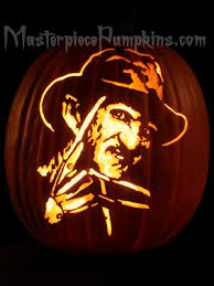 Freddy Krueger Pumpkin by Famous Faces Carving Patterns