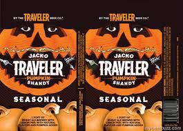 Travelers Pumpkin Beer by Traveler Beer Jack O Traveler Curious Traveler U0026 Jolly Traveler