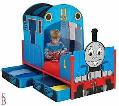 thomas feature toddler bed frame no mattress tank engine ebay