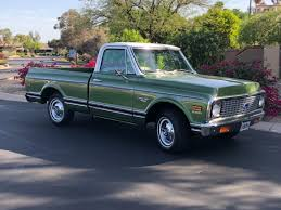1972 Chevy C-10 Truck Custom Deluxe - Used Chevrolet C-10 For Sale ... 1972 Chevy K20 Pick Up 4x4 Dealer Keeping The Classic Pickup Look Alive With This 1968 Trucks For Sale Truck Chevrolet Suburban K5 Blazer For Sale 84525 Mcg C10 Pickups Panels Vans Original Pinterest Black Betty Photo Image Gallery Stepside Short Bed Up Cst Longbed Frame Off Restoration No Dents Hemmings Find Of Day Cheyenne P Daily 1971 Chevy Pickup Custom 10 Orange 350 Motor