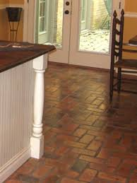 reclaimed brick flooring thin brick floors brick floor tile
