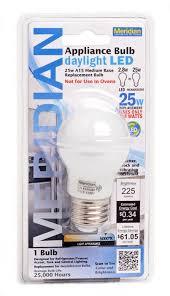 13182 led a15 25w equivalent appliance bulb