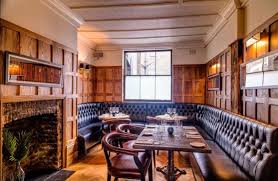 100 The Oak Westbourne Grove Room Harcourt Marylebone London Banquette Seating