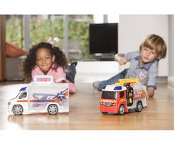 Fire Engine Push & Play - SOS - Brands & Products - Www.dickietoys.de