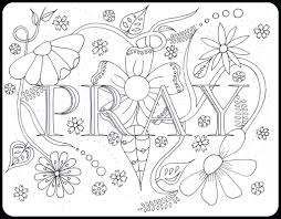 Free Christian Coloring Pages With Scripture For Adults Bible Pray Page Sheets Full Size