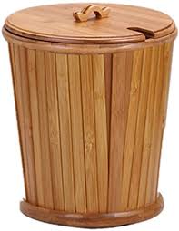 mai badezimmer mülleimer bambus retro barrel abwasser