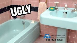 Bathtub Reglazing St Louis Mo by Kansas City Bathroom Refinishing I Miracle Method I Bathroom