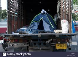 100 Tent For Back Of Truck Flood Refugees Live In Back Of Truck National Stadium Bangkok