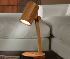amazing of wooden desk lamp wooled solid wood diy led desk lamp id