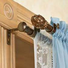 sculpture of magnetic curtain rods easy way to install window