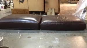 rembourrage canape rembourrage assise canapé cuir à toulon restauration meubles et
