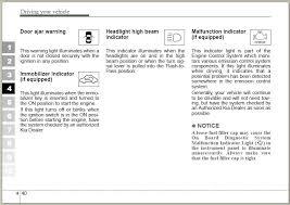 Malfunction Indicator Lamp Honda by Dash Warning Light Car With Key In It Kia Forum