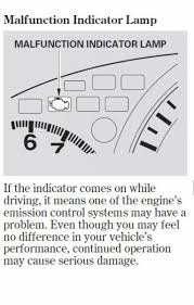 New Honda Malfunction Indicator Lamp Other Ideas Painting