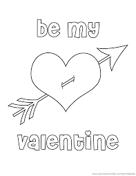 Full Page Valentines Day Coloring Printable