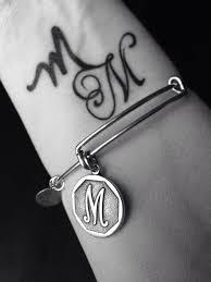100 Mm Design Charmed Arm MM Tattoo Alex And Ani M Charm Wrist Tattoo