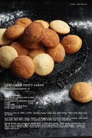 Cardamom Patty Cakes Recipe Card