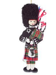 Scottish Christmas Tree Decorations Stock Photo 54780757 Alamy