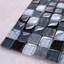 buy black glass tile backsplash and get free shipping on