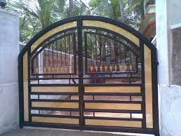 Enchanting Home Gates Designs Iron Gate For Homes HomesFeed 1000 ... Front Doors Gorgeous Door Gate Design For Modern Home Plan Of Iron Fence Best Tremendous Rod Gates 12538 Exterior Awesome Entrance And Decoration Using Light Clever Designs Homes Homesfeed Hot Simple In Kerala Addition To Firstrate 1000 Ideas Stesyllabus Concrete Driveway Automatic Openers With