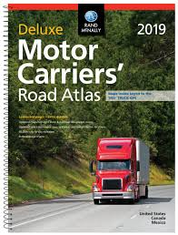 Rand Mcnally 2019 Motor Carriers' Road Atlas: Dmcr (Rand McNally ...
