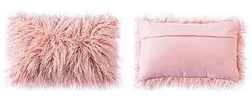 Amazon OJIA Deluxe Home Decorative Super Soft Plush Mongolian
