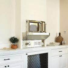 Dining Room With Built In Oven