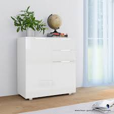 hochglanz weiß sideboard für wohnzimmer oder schlafzimmer