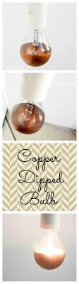 copper dipped light bulb contributor post